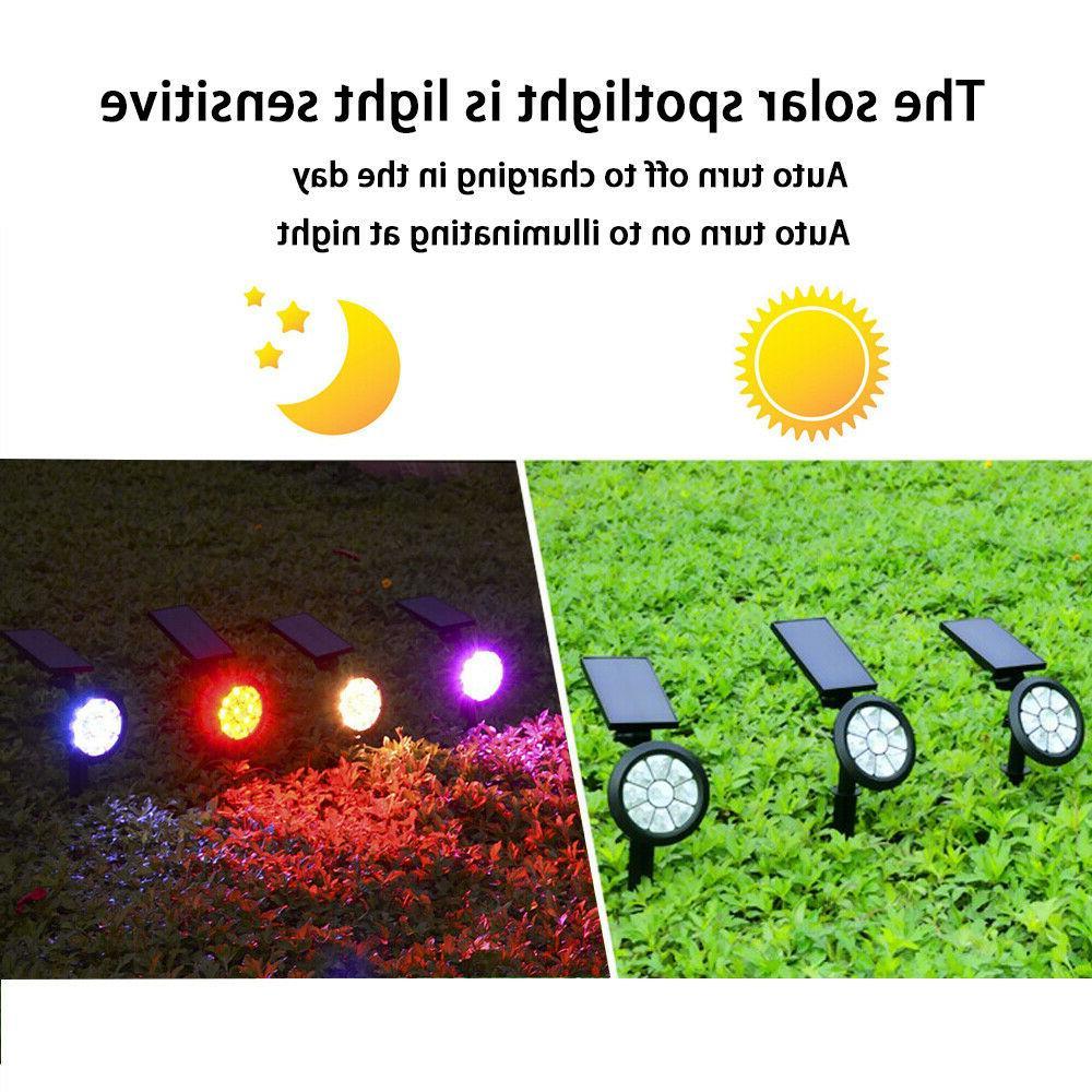 Solar Lights Color Changing Color Garden