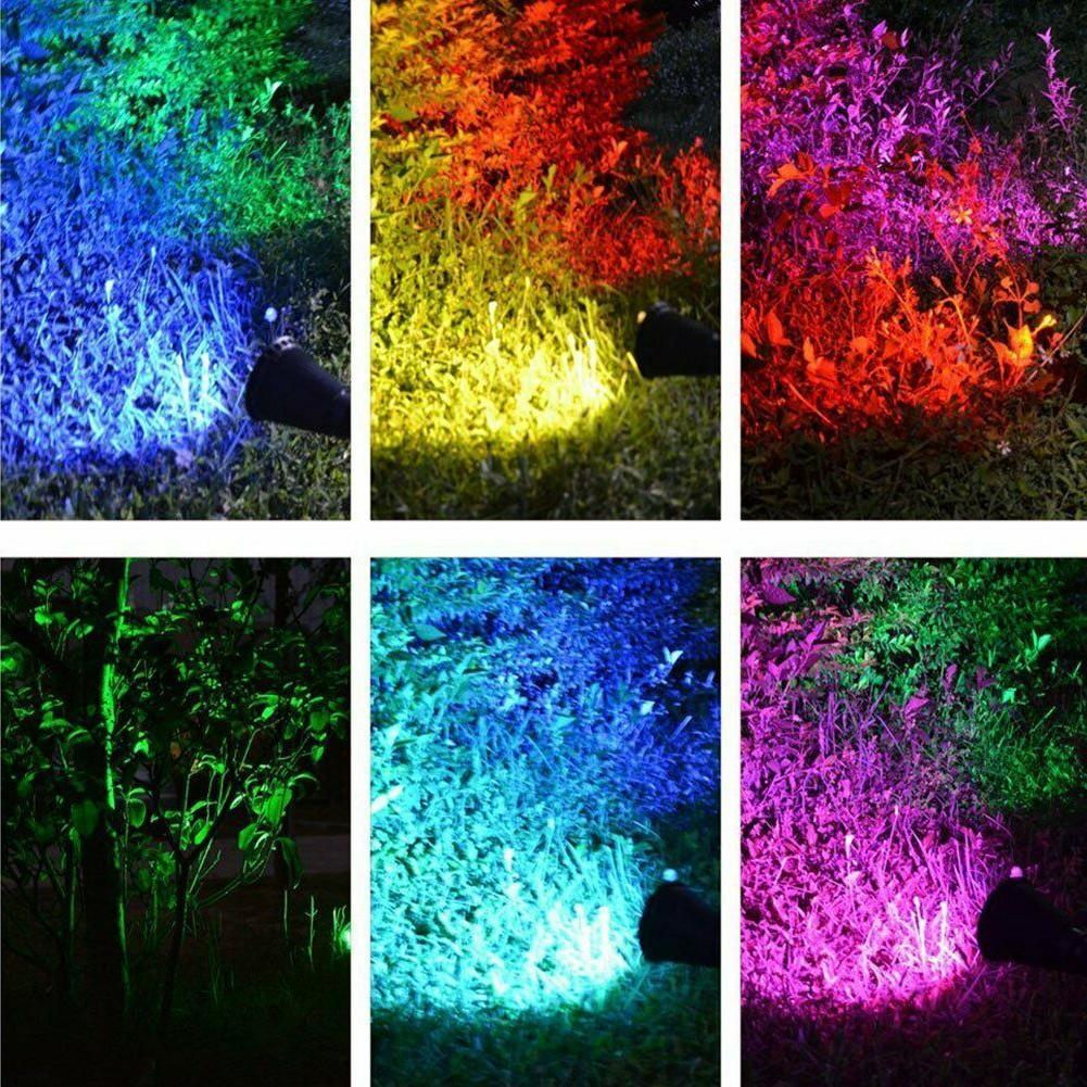 Solar Spotlights Outdoor Lights Color 2