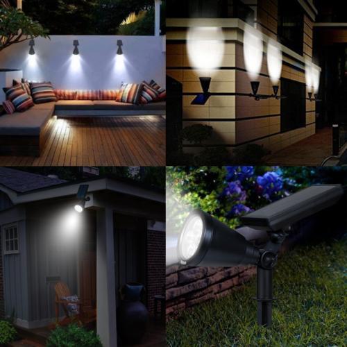 AMIR Upgraded, Waterproof 4 Solar Security Lights,