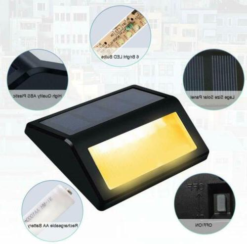 Solar Step Lights - Solar Garden Lights