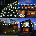 Vivii Solar String Light 20 Ft 30 Led Crystal Ball Waterproo