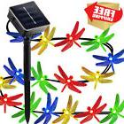 KOBWA Solar String Lights,16ft 20 LED 2 Modes Dragonfly Ligh