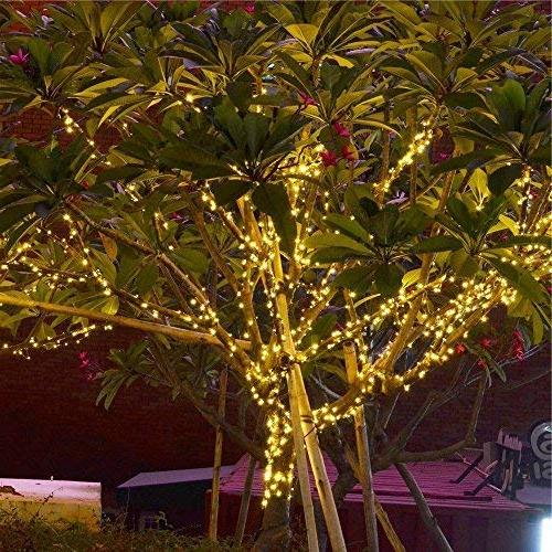 Solar 115ft 300 Ambiance Patio, Lawn,Garden, Home, Tree decoration,waterproof/Timer/USB Charge