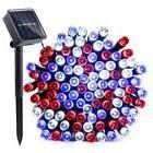 Qedertek Solar String Lights, 39ft 100 LED 8 Mode Decorative