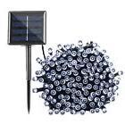 Qedertek Solar String Lights, 72ft 200 LED Fairy Christmas L