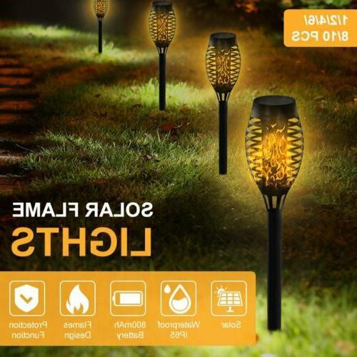 10PCS Flame Torch Light Waterproof