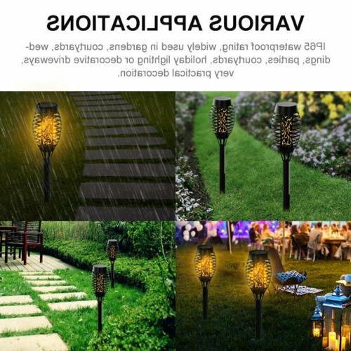 2X 12LED Torch Light Lamp Garden