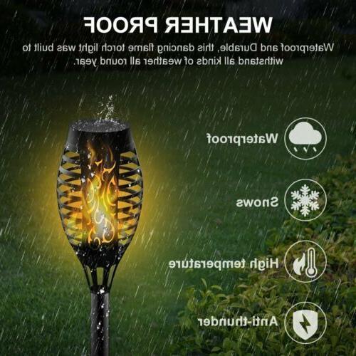 2Pack LED Solar Lights Dancing Garden Outdoor Waterproof