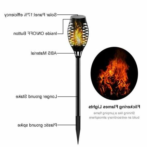 Torch Dance Flickering Light Lamp Waterproof