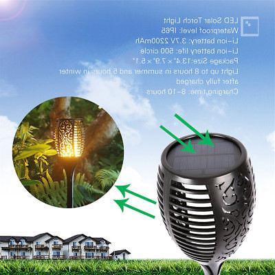 Solar Torch Lights Balight Dancing LED Tiki