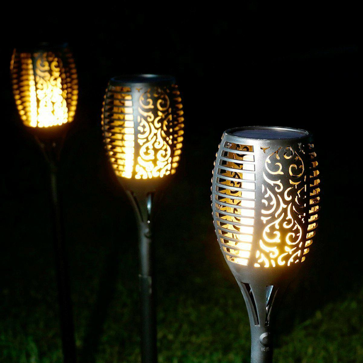 Solar Torch Flame Dancing Flame 96 LED