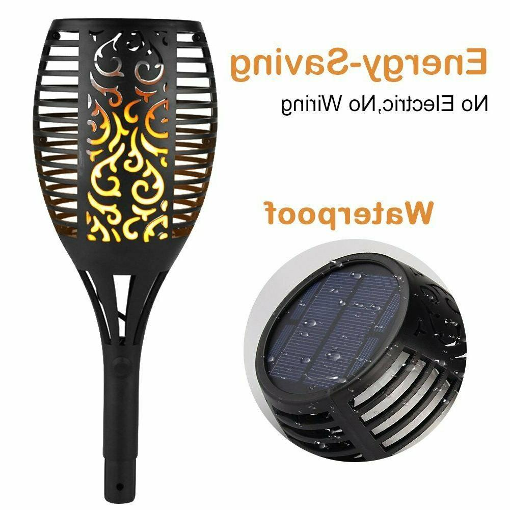 Solar Torch Flame Dancing LED