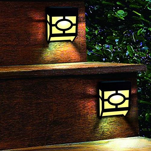 Outdoor, Modes Led for Deck, Fence, Patio, Door, and Driveway Path,Warm Changing,Pack of 8