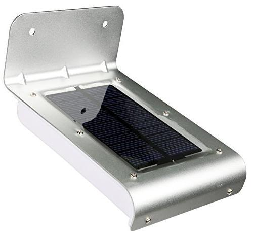 Solarek 16 LED Power Sensor Garden Security Outdoor Waterproof Light