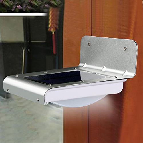 Solarek 16 Solar Power Motion Sensor Security Lamp Light