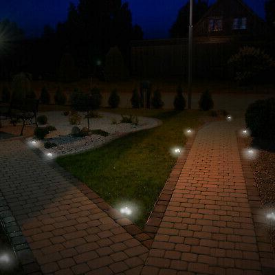 GreenLighting Stainless Solar Light Set