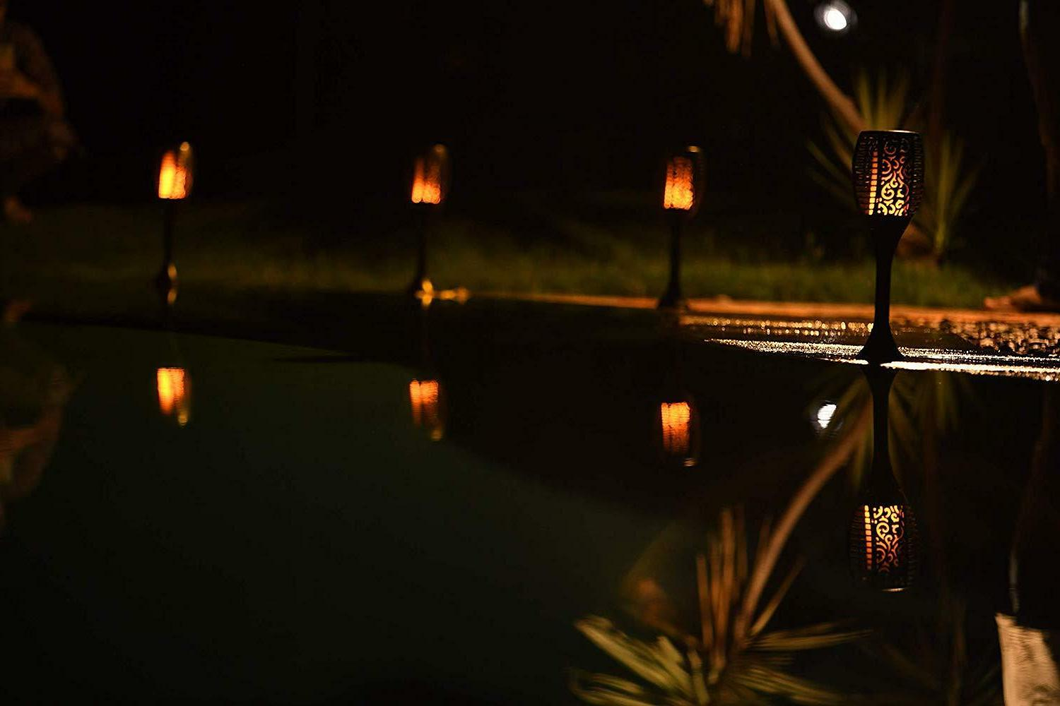 Xabitat Torches Solar Lights-Remote controlled-Outdoor