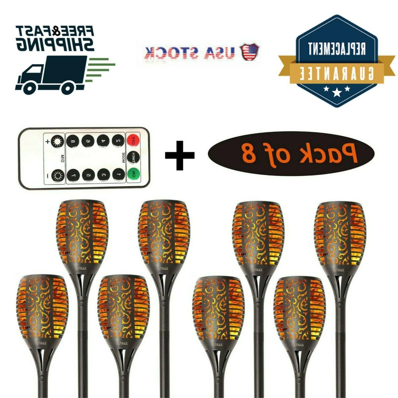 Xabitat Tiki Torches Lights-Remote
