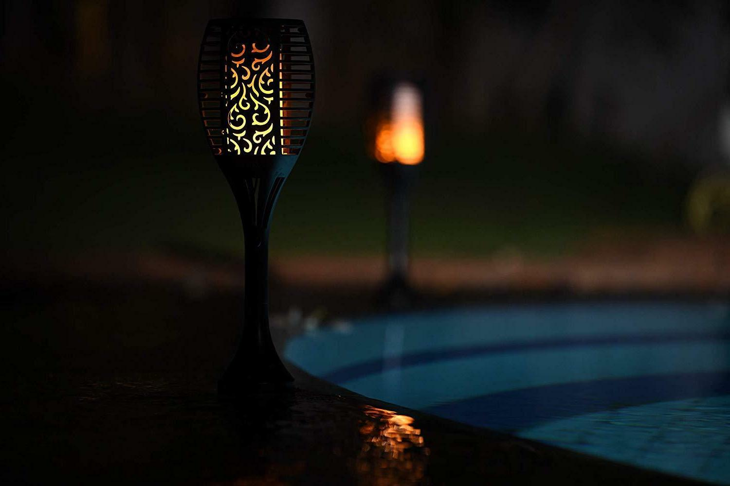 Xabitat Tiki Torches Lights-Remote controlled-Outdoor