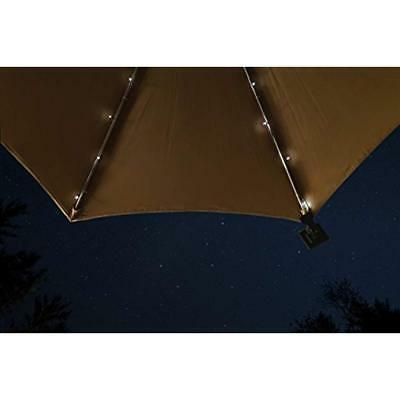 Umbrella Solar String Lights - Total LEDs, 9