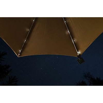 Umbrella Solar String Lights - Total LEDs, 9