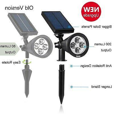 AMIR Upgraded 2 1 Solar Outdoor Lightin
