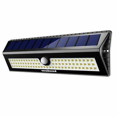 InnoGear Upgraded 77 LED Solar Lights Outdoor Motion Sensor