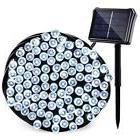 Qedertek Upgraded Solar/Battery Powered String Lights, 72ft
