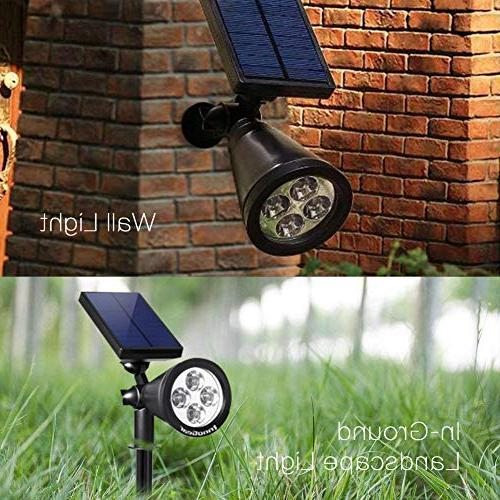 InnoGear Upgraded 2-in-1 Waterproof Lighting Light Auto On/Off Garden of 2
