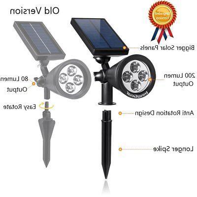 Innogear Upgraded Solar 2-In-1 Outdoor