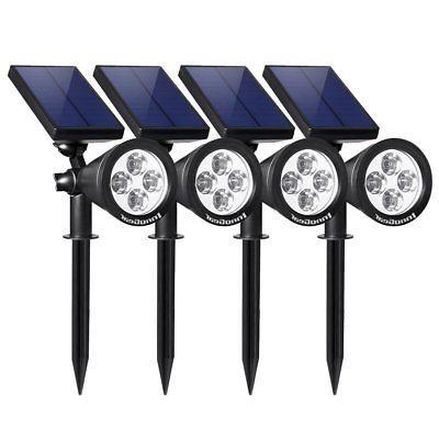 upgraded solar lights 2 in 1 waterproof