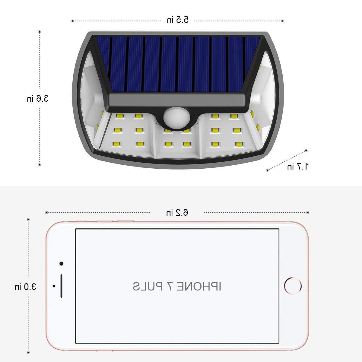 InnoGear Upgraded Outdoor, Motion Sensor Light with Wide Lighting