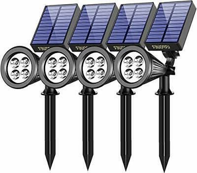 URPOWER Solar Lights Waterproof Solar Lights Outdoor 2-in-1