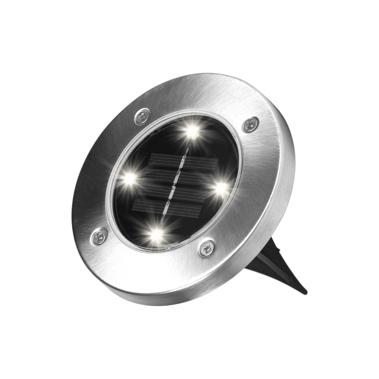 US 4X Lights Solar Power Lights Waterproof