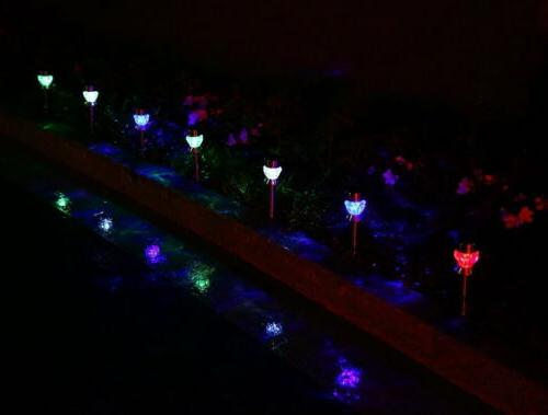 US Color-Changing Solar Outdoor Garden LED Landscape/Pathway