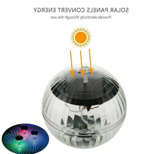 US Lights Lamp Rotating Color Outdoor