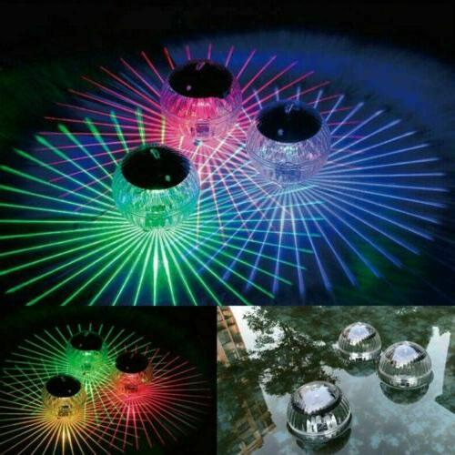 us solar led floating lights garden pond