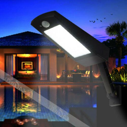 LED PIR Sensor Security Light