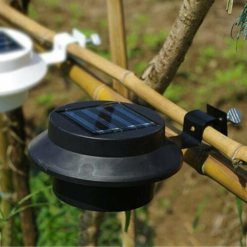 US 3 LED Gutter Outdoor Lamp Fence