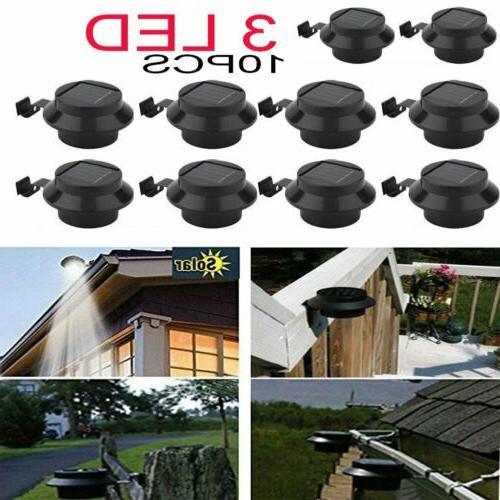 US Solar Powered Lamp Yard Fence Lights