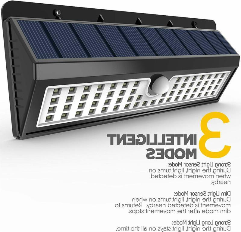 Wall Security Lighting 62 LED Motion Garden pack