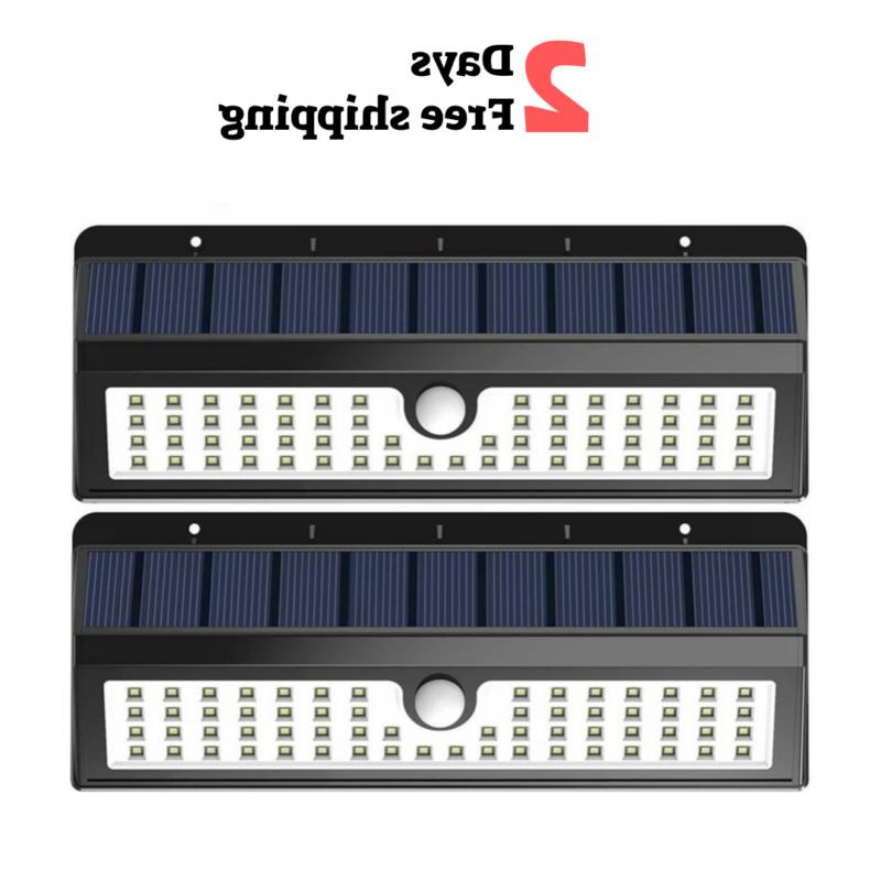 wall solar light outdoor security lighting 62