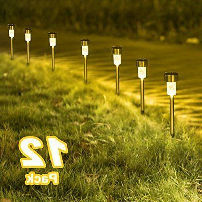 Sunnest Warm White Solar Garden Lights Outdoor, Solar Powere