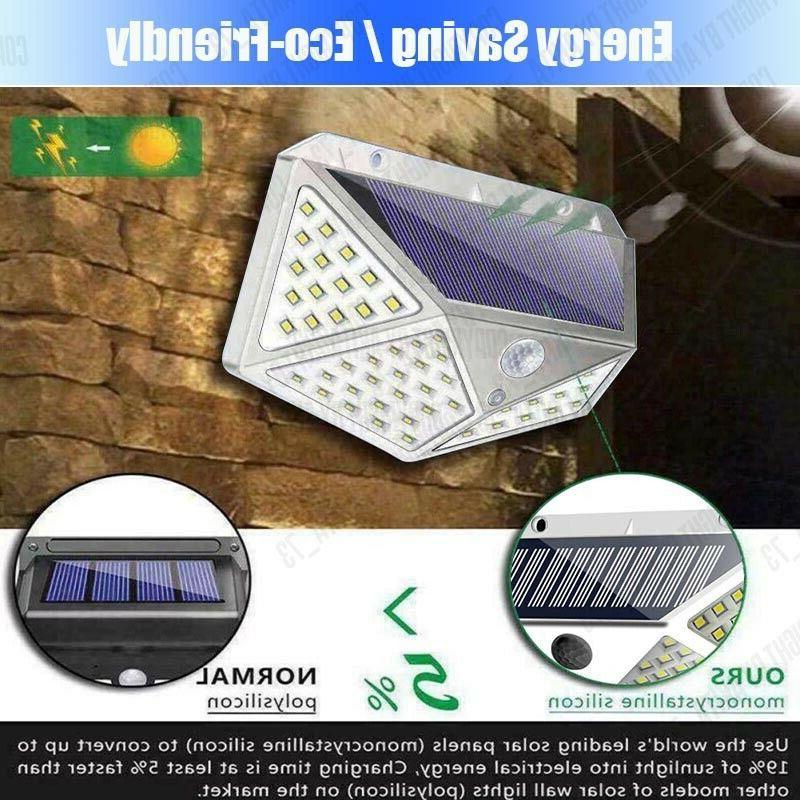 Waterproof Motion Sensor Outdoor Garden Lamp Light