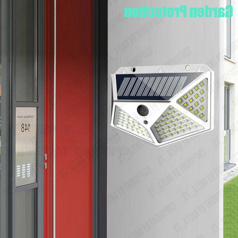 Waterproof LED PIR Motion Solar Power Outdoor Light