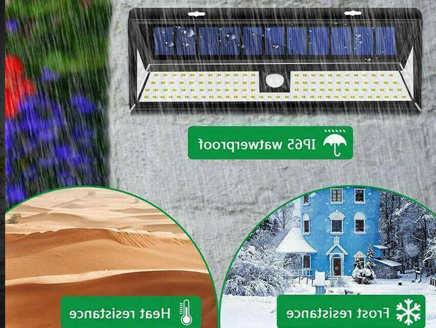 Waterproof 118 LED Solar Lamp Light