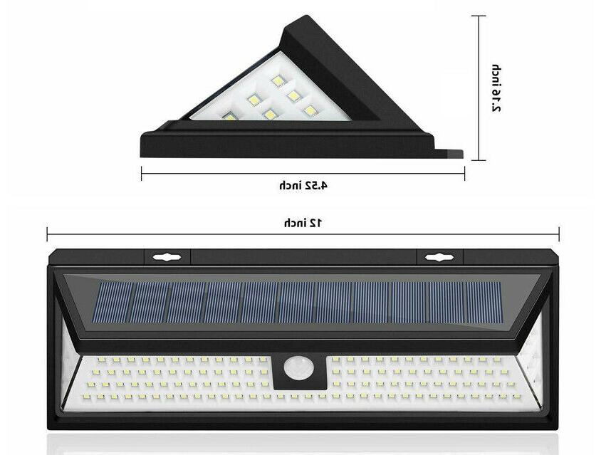 Waterproof Lamp Outdoor Garden PIR Sensor Light