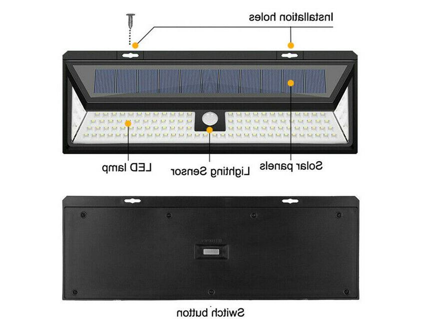 Waterproof Lamp Outdoor PIR Motion Light