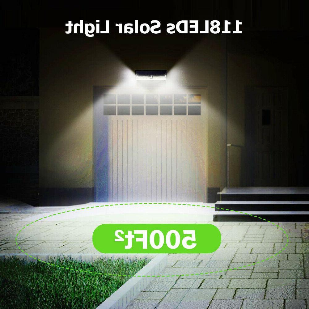 Waterproof 118 Lamp PIR Sensor Wall Light