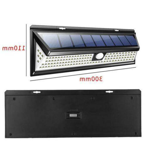 Waterproof 118 LED Lamp PIR Sensor Light